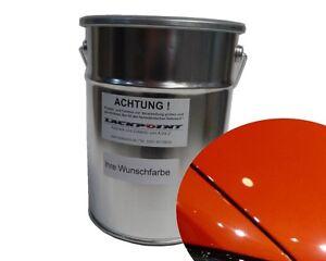 3-Litro-Base-de-agua-para-pulverizar-VW-AUDI-lb2y-Naranja-Metalico-Pintura
