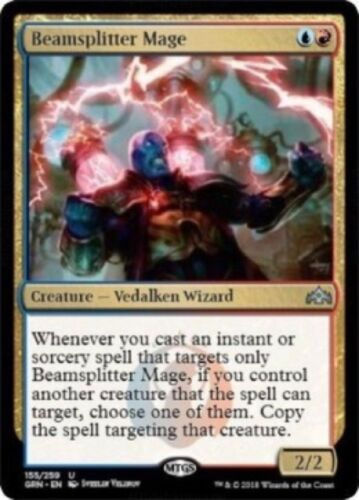 - Guilds of Ravnica Uncommon 155//259 4 x Beamsplitter Mage