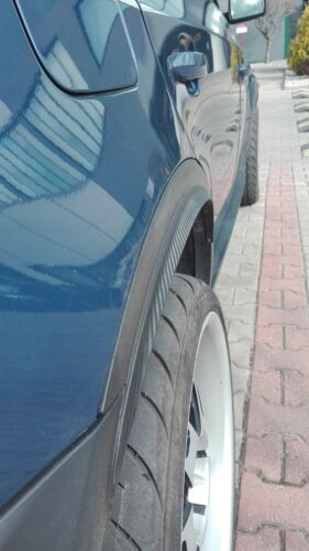 OCTAVIA tuning felgen 2x Radlauf Verbreiterung CARBON look Kotflügel 35cm