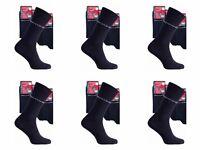 18 Paar Pierre Cardin Herrensocken Baumwolle Business Socken Schwarz Gr 43-46