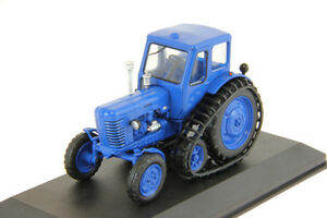 MTZ-50-Belarus-Tractor-Soviet-Farm-Vehicle-USSR-1962-Year-1-43-Scale-HACHETTE