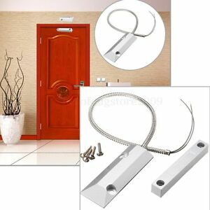 Zinc Alloy Alarm Magnetic Reed Switch Detector Sensor