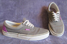 VANS Gray/Purple OFF THE WALL TB4R Classic Skate Shoe Sneaker Mens 7.5 Womens 9