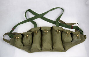 Surplus-Military-Chinese-1970-039-s-1980-039-s-Type-56-Chest-Rig-Ammo-Pouch
