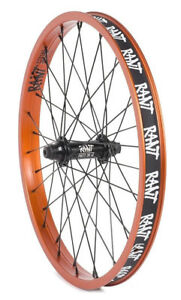 RANT-PARTY-ON-V2-BMX-BIKE-20-034-FRONT-WHEEL-FIT-SHADOW-SUBROSA-CULT-HARO-ORANGE