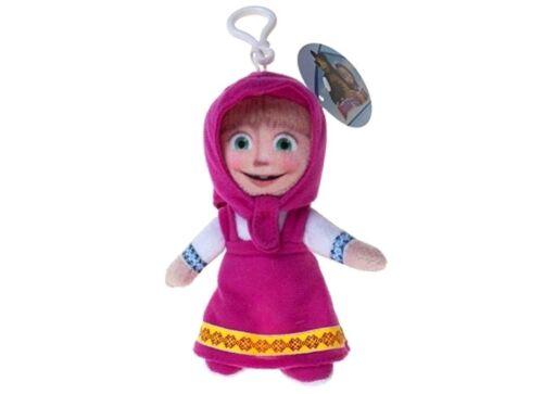 MASHA AND THE BEAR Clip-on Kids Cartoon Plush Toys Jouet Doux Cadeau de Noël UK
