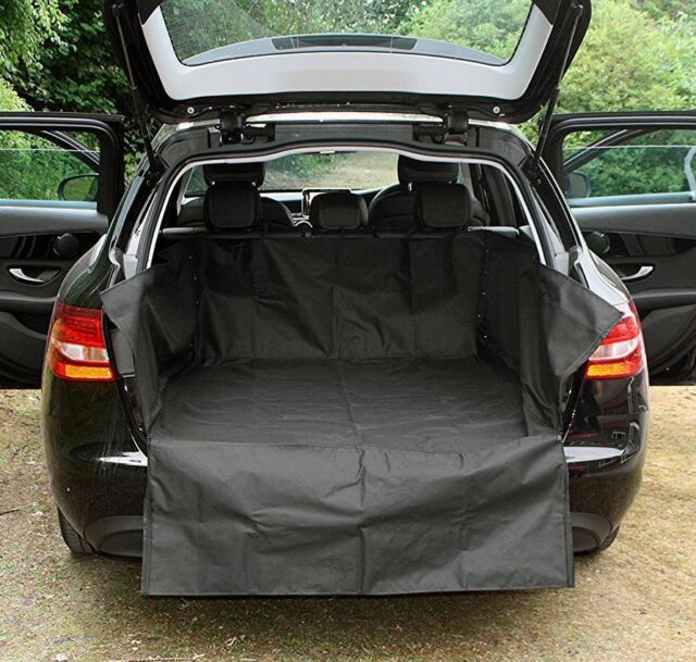 UKB4C Heavy Duty Water Resistant Car Boot Liner Mat Bumper Protector for Meriva All Models