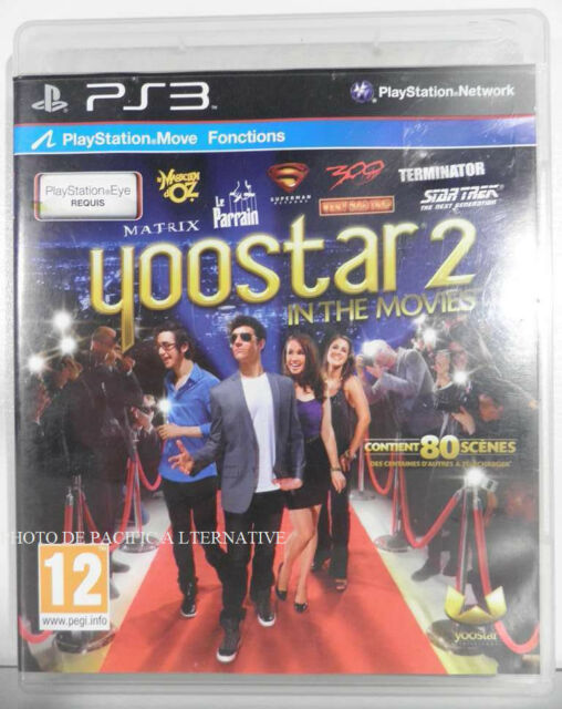 jeu YOOSTAR 2 IN THE MOVIES pour PLAYSTATION 3 game scenes film francais PS3