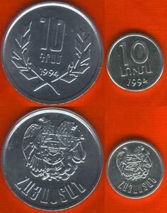 Armenia 10,20,50 luma /& 1,3,5,10 drams,FULL SET 1994 7 coins UNC