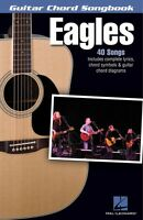 Eagles Guitar Chord Songbook Sheet Music Lyrics Chord Symbols Guitar C 000122917