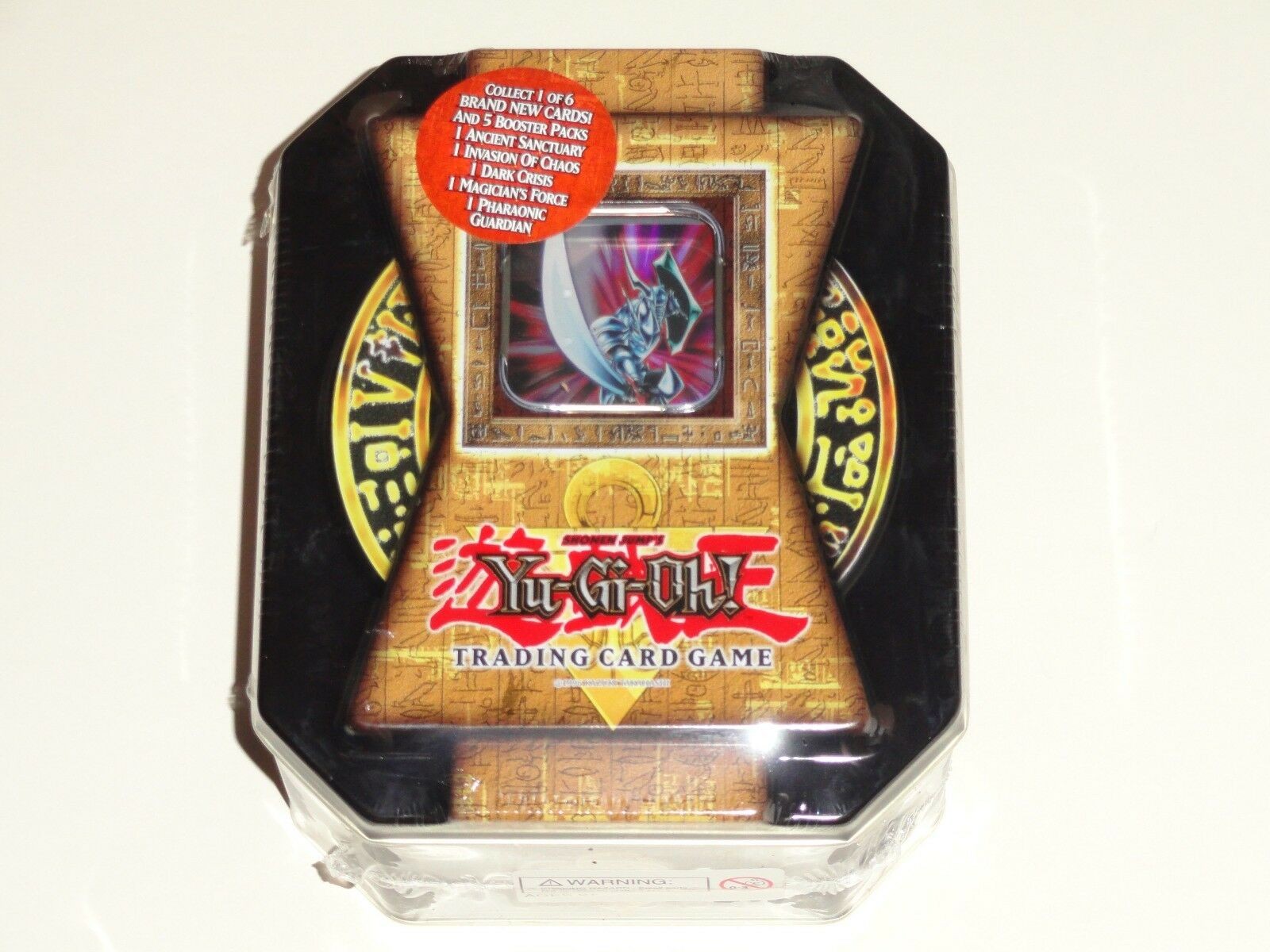 NEW  Yu-Gi-Oh 2004 Blade Knight Collector Holiday Tin Factory Factory Factory Sealed a62a55