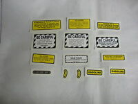 Ihc International Farmall Model 460 Gas Tractor Decals Free Shipping
