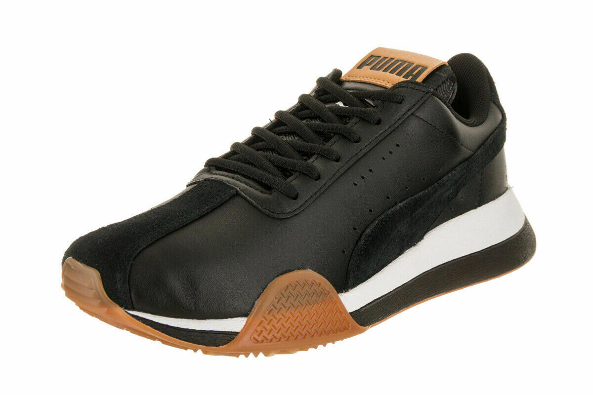 PUMA - TURIN_0 - 367794 02 - Men's Casual Athletic shoes - BLACK WHITE - Size 10