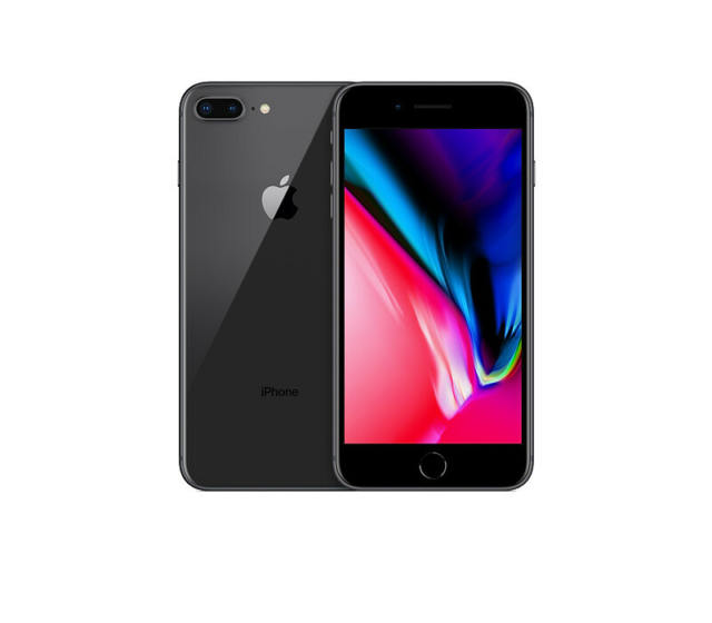 iPhone 8, GB 64, sort, Perfekt, Produktnavn:	iPhone…