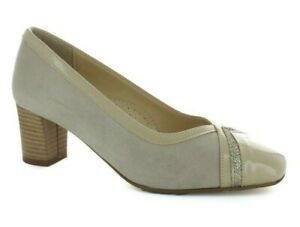 Shoes Court Shoes 'Woman MM Confort 506 With Beige Made IN Italy Heel 50