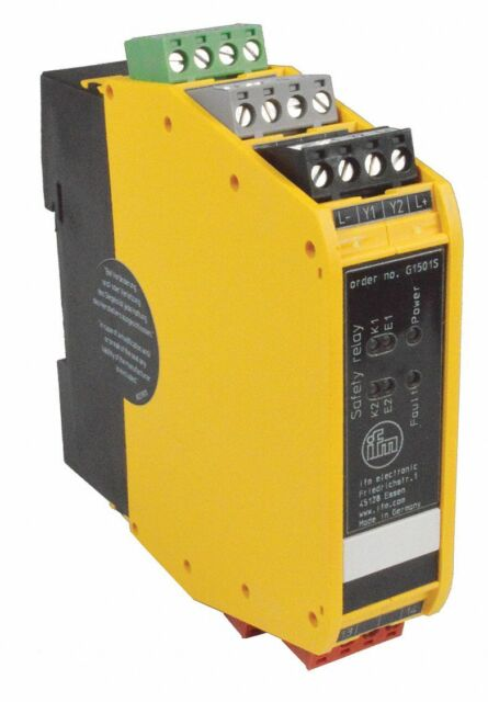 ifm EFECTOR G1501S Safety Switch Gear Relay 24v-dc D211219 for sale