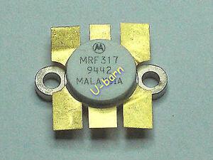 MOTOROLA-MRF317-RF-TRANSISTOR-BROADBAND-RF-POWER-TRANSISTOR-N