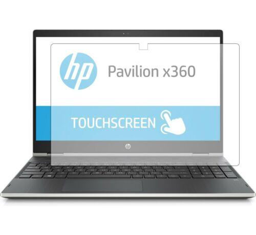 """Screen Protector for HP Pavilion X360 cr0051cl cr0051od 15.6/"""" laptop Set of 2"""