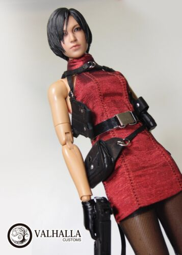 Valhalla Customs Custom Outfit for Resident Evil Ada Wong 1//6 figure