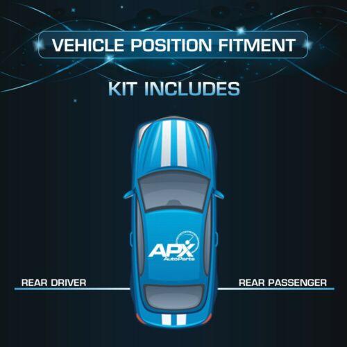 Rear Sensen Strut Assembly 09-16 Ford Flex Rear, 2340-RS