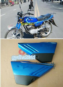 Blue / Red ABS Battery Side Cover for SUZUKI AX100 | eBay