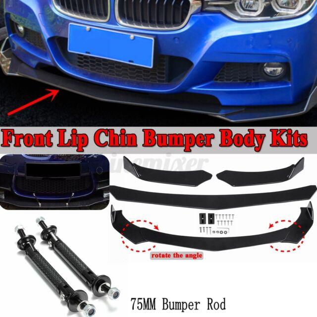 Front Bumper Lip Body Kit Spoiler For BMW F30 F80 M3 F82