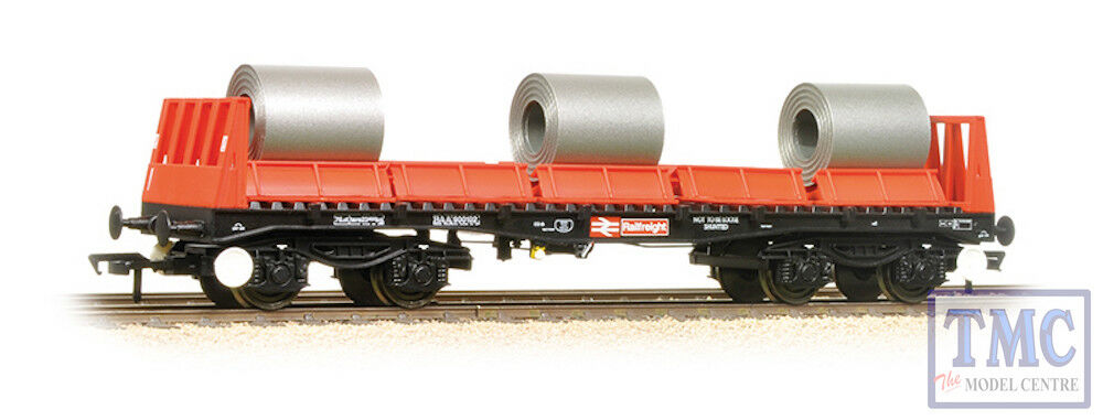 38-352B Bachmann OO Gauge BAA Steel Carrier Wagon With Steel Coils