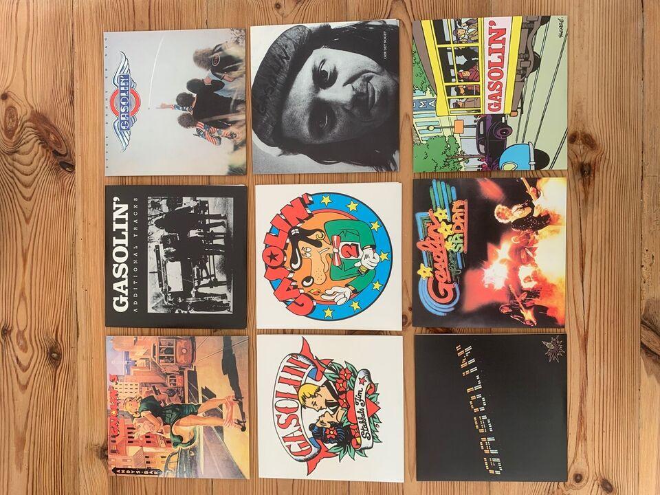 Gasolin: Gasolins samlede albums, rock