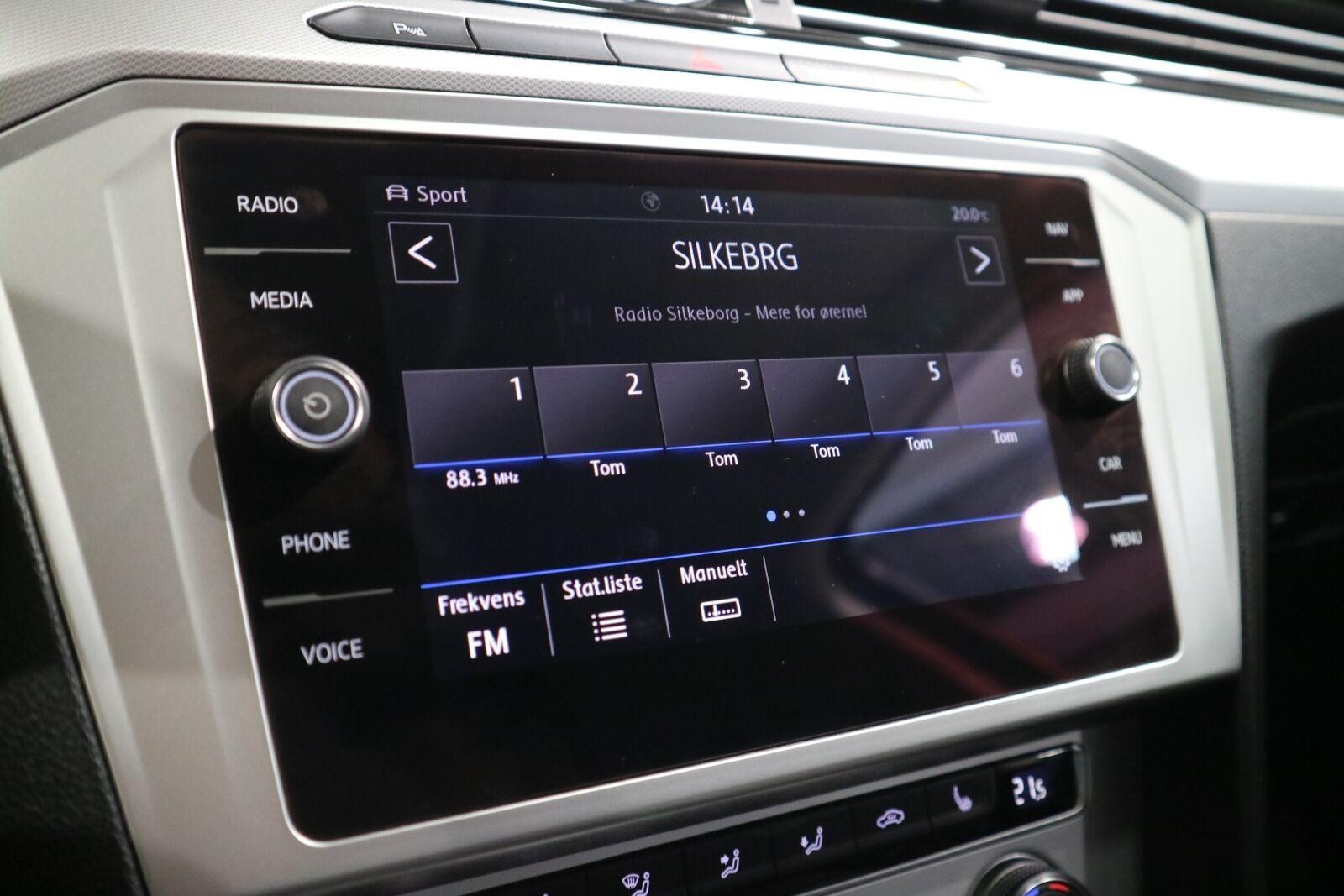 VW Passat 1,4 TSi 150 Comfortline Premium Variant DSG - billede 6