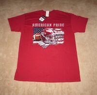 Alabama Crimson Tide Men's Large T-shirt American Pride Free Shipping
