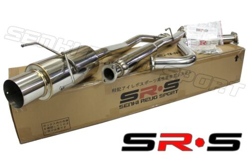 SR*S CATBACK EXHAUST SYSTEM HONDA ACCORD 1994-1997 2//4DR Stainless Steel