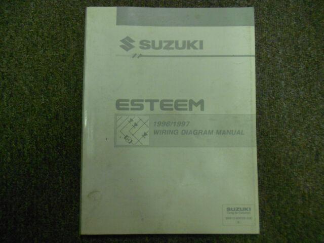 1996 1997 Suzuki Esteem Electrical Wiring Diagram Shop