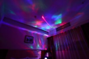 Psychedelic Lamp Light Decorative Relaxing Trippy Aurora Borealis Projector Room