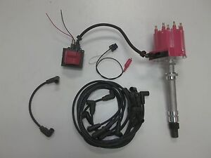 Details about Distributor kit 454 7.4 ignition coil wires shunt mercruiser on