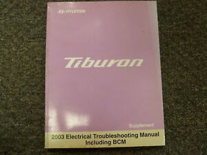 Peachy 2003 Hyundai Tiburon Coupe Electrical Wiring Diagram Manual Gt V6 Wiring Cloud Nuvitbieswglorg