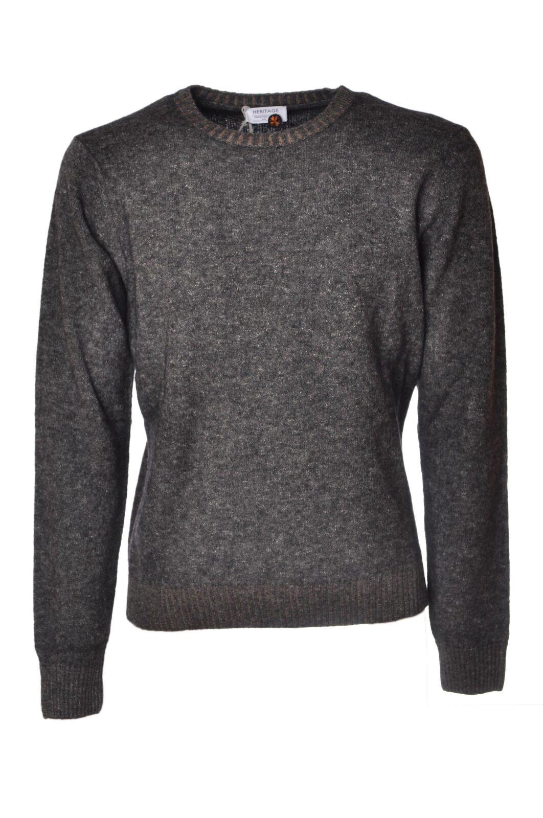 Heritage  -  Sweaters - Male - Grau - 4355926A184814