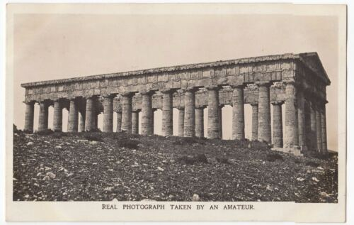 Kodak Advertising Postcard For No 3A Folding Pocket Kodak, Shows Roman Temple