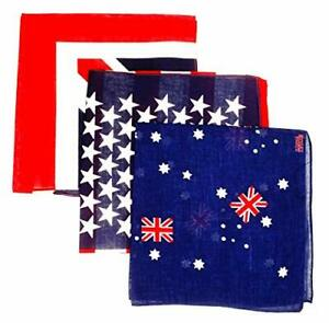 Pa/ñuelo con bandera de Australia bandana
