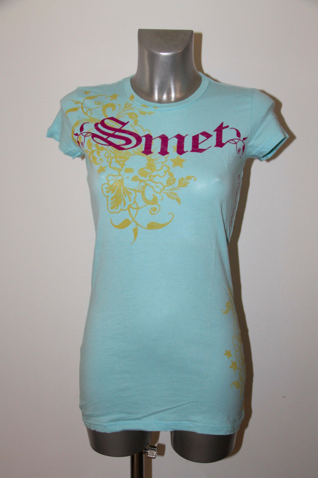 Tunic beauty baby bluee SMET hallyday Size XS NEW LABEL