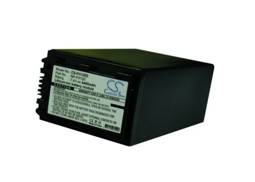 UK Battery for Sony DCR-DVD103 NP-FH120 7.4V RoHS