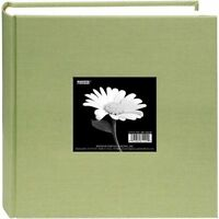 Pioneer 200 Pocket Fabric Frame Cover Photo Albums, Sage Green , New, Free Shipp on sale