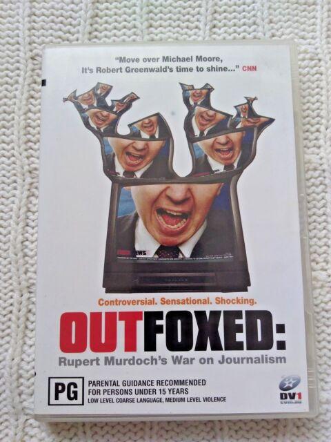 OUTFOXED - RUPERT MURDOCH'S WAR ON JOURNALISM– DVD, REGION-4, LIKE NEW