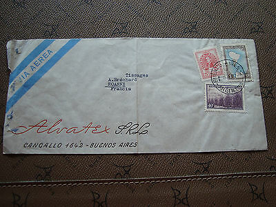 cy74 Enveloppe Argentine Argentina Refreshing And Beneficial To The Eyes