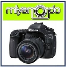 Canon EOS 80D Digital SLR 18-55mm Lens Kit