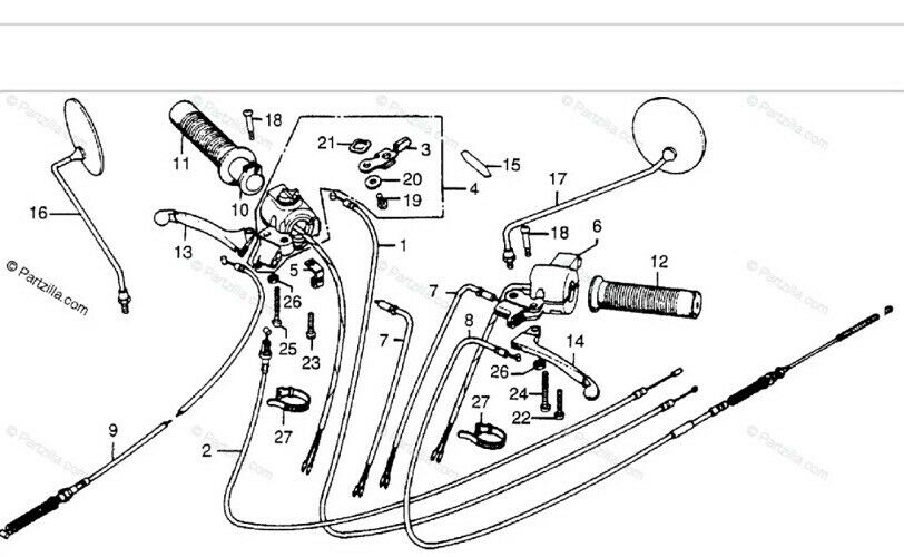 Trail 70 Wiring Diagram