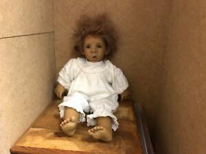 Jeckle Jansen Doll Vinyl 45 Cm.   Top condition