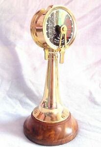 """Collectible 14/"""" Brass Hand-Made Telegraph Vintage Ship Engine Room Telegraph"""