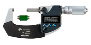 "Friction Thimble Mitutoyo 293-336-30 Digital Micrometer IP65 1-2/"""