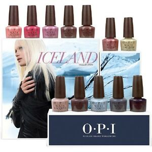 Image Is Loading Opi Nail Lacquer 15ml Iceland Fall 2017