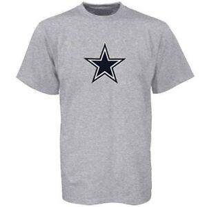 NFL-Dallas-Cowboys-Men-039-s-Premier-Logo-Cotton-T-Shirt-Size-Medium